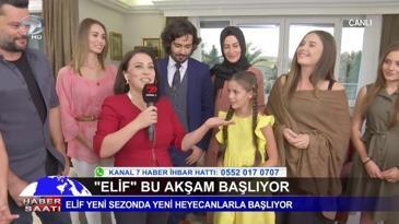 """Elif Dizisi Yeni Sezona Canlı Yayınla """"Merhaba"""" Dedi"""