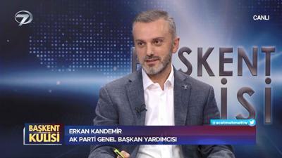 Başkent Kulisi - Erkan Kandemir - 24 Ekim 2021