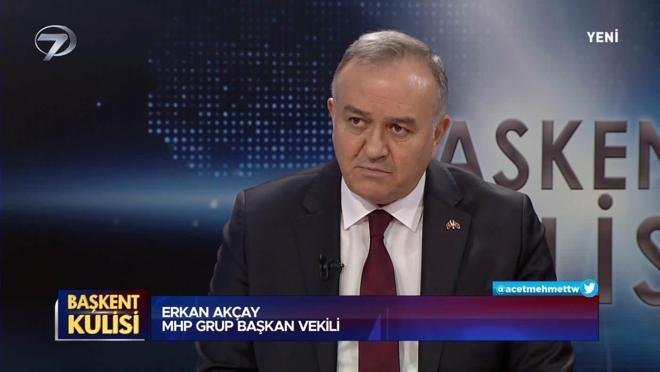 Başkent Kulisi - Erkan Akçay - 25 Nisan 2021