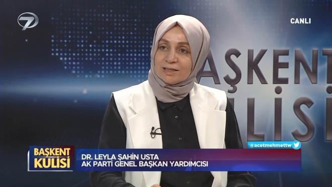 Başkent Kulisi - Leyla Şahin Usta - 27 Haziran 2021