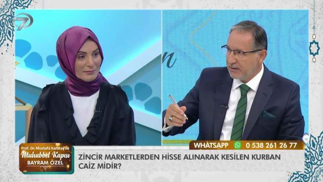 Prof. Dr. Mustafa Karataş ile Muhabbet Kapısı 'Bayram Özel' - 21 Temmuz 2021