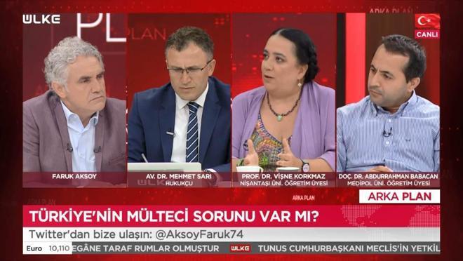 Arka Plan - Vişne Korkmaz   Mehmet Sarı   Abdurrahman Babacan   26 Temmuz 2021