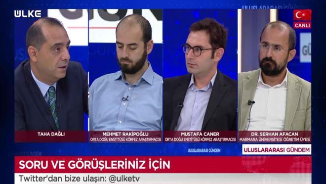 Uluslararası Gündem - Mehmet Rakipoğlu | Mustafa Caner | Serhan Afacan | Alihan Limoncuoğlu | Sernur Yassıkaya | 1 Eylül 2021