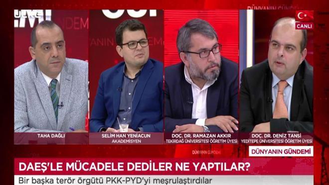 Dünyanın Gündemi - Selim Han Yeniacun   Ramazan Akkır   Deniz Tansi   11 Eylül 2021